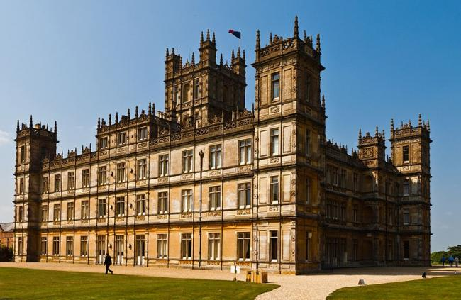 Highclere Castle. Pic: Wikimedia