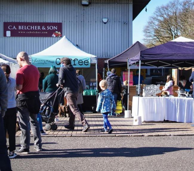 Lower Earley Farmers' Market was shut down by police on February 27 due to concerns about a lack of social distancing