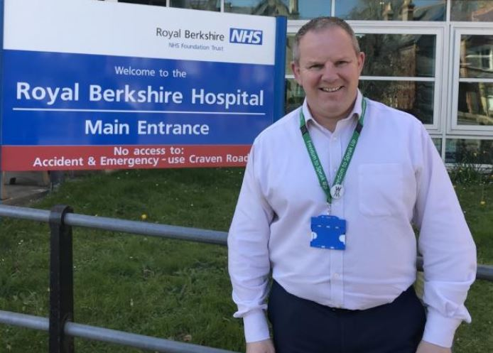 Steve McManus, chief executive of Royal Berkshire NHS Foundation Trust