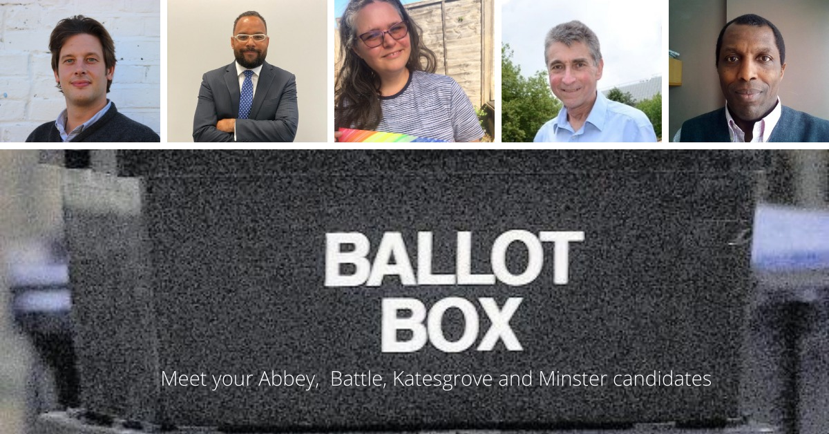 Meet your Reading 2021 election candidates: Central (Abbey, Battle, Katesgrove and Minster)
