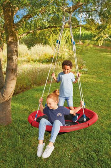 Reading Chronicle: Playtive Nest Swing. (Lidl)