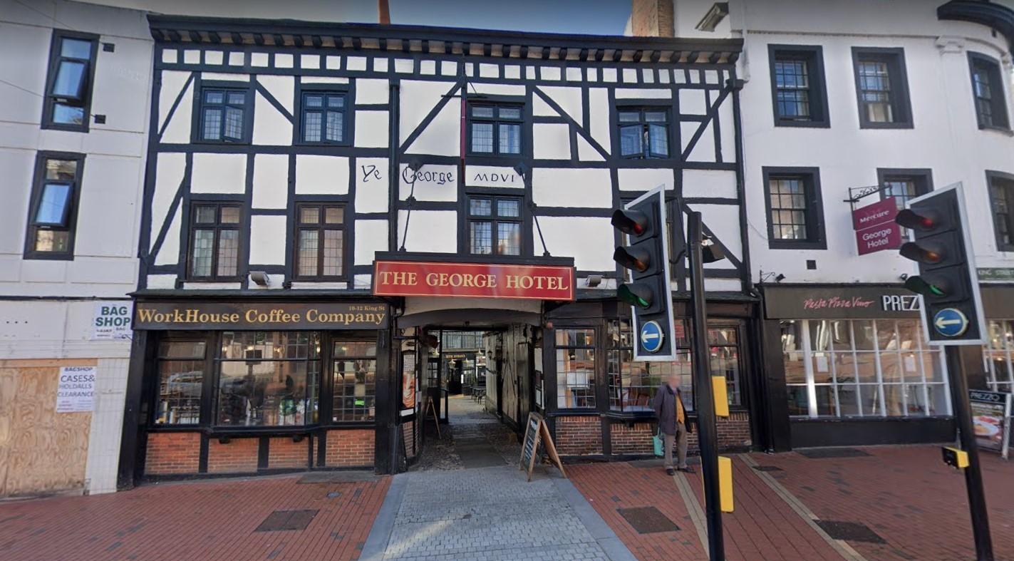 The Mercure George Hotel