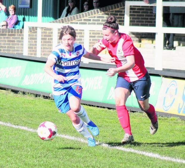 Reading Chronicle: England call up: Fran Kirby. Pic: Nigel Hoyle.