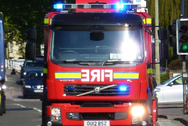 Four homes evacuated after Calcot roof fire