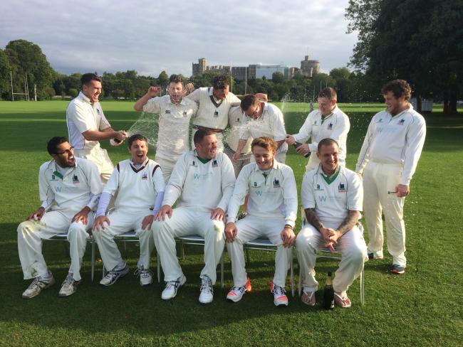 Windsor Cricket Club Won Promotion In Thames Valley League Division One Last Season As Champions