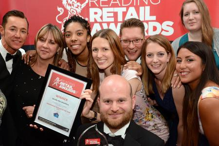 Previous nominees at the Reading Retail Awards