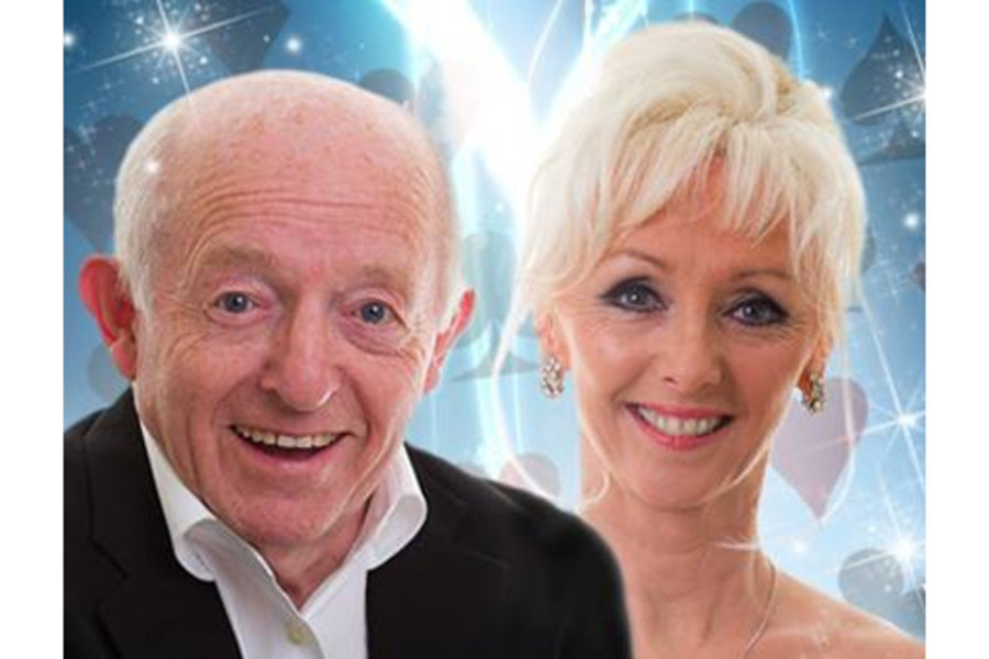 Paul Daniels, left, has been diagnosed with an incurable brain tumour.