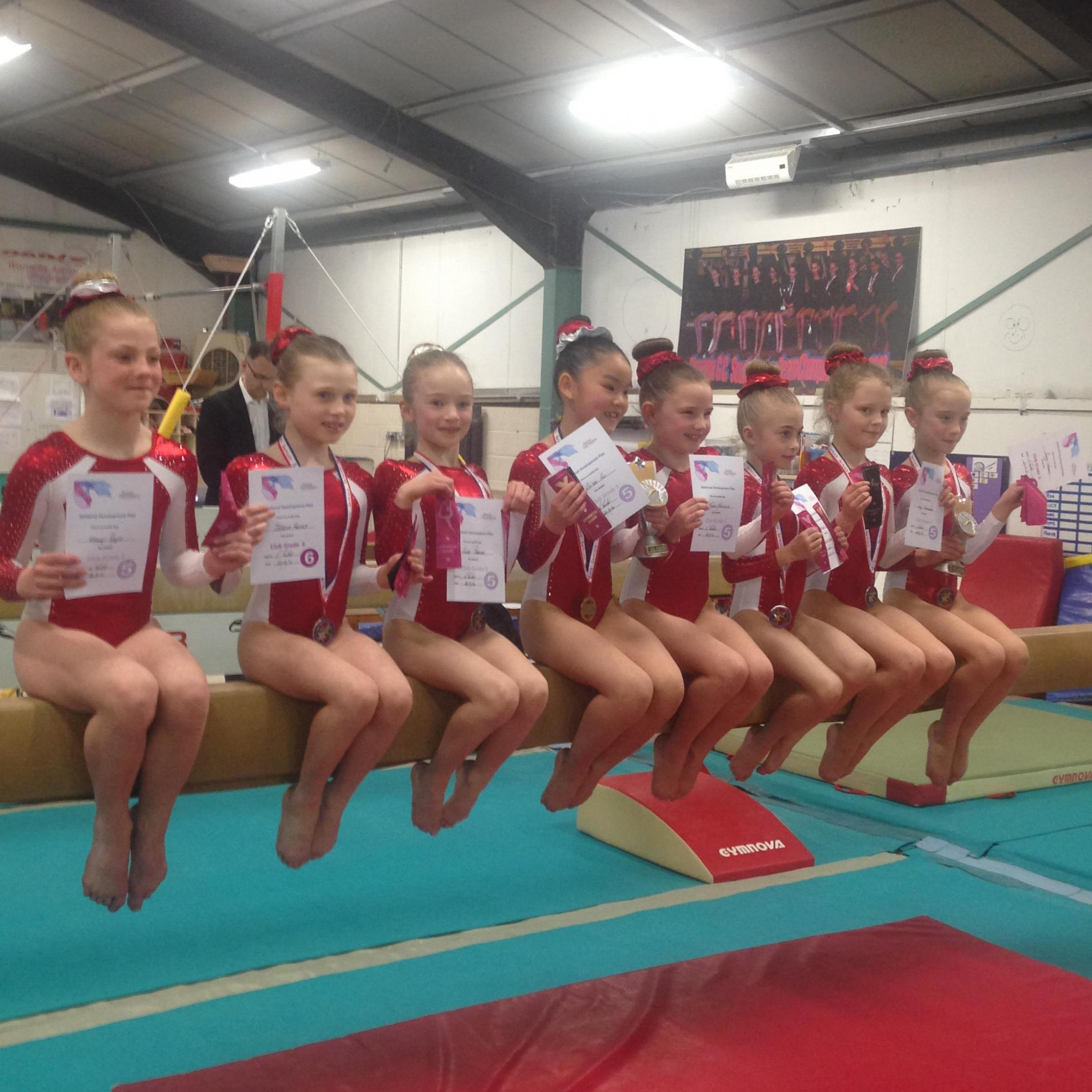 Enth Phoenix Gymnastics Club Win Four County Awards Reading Chronicle