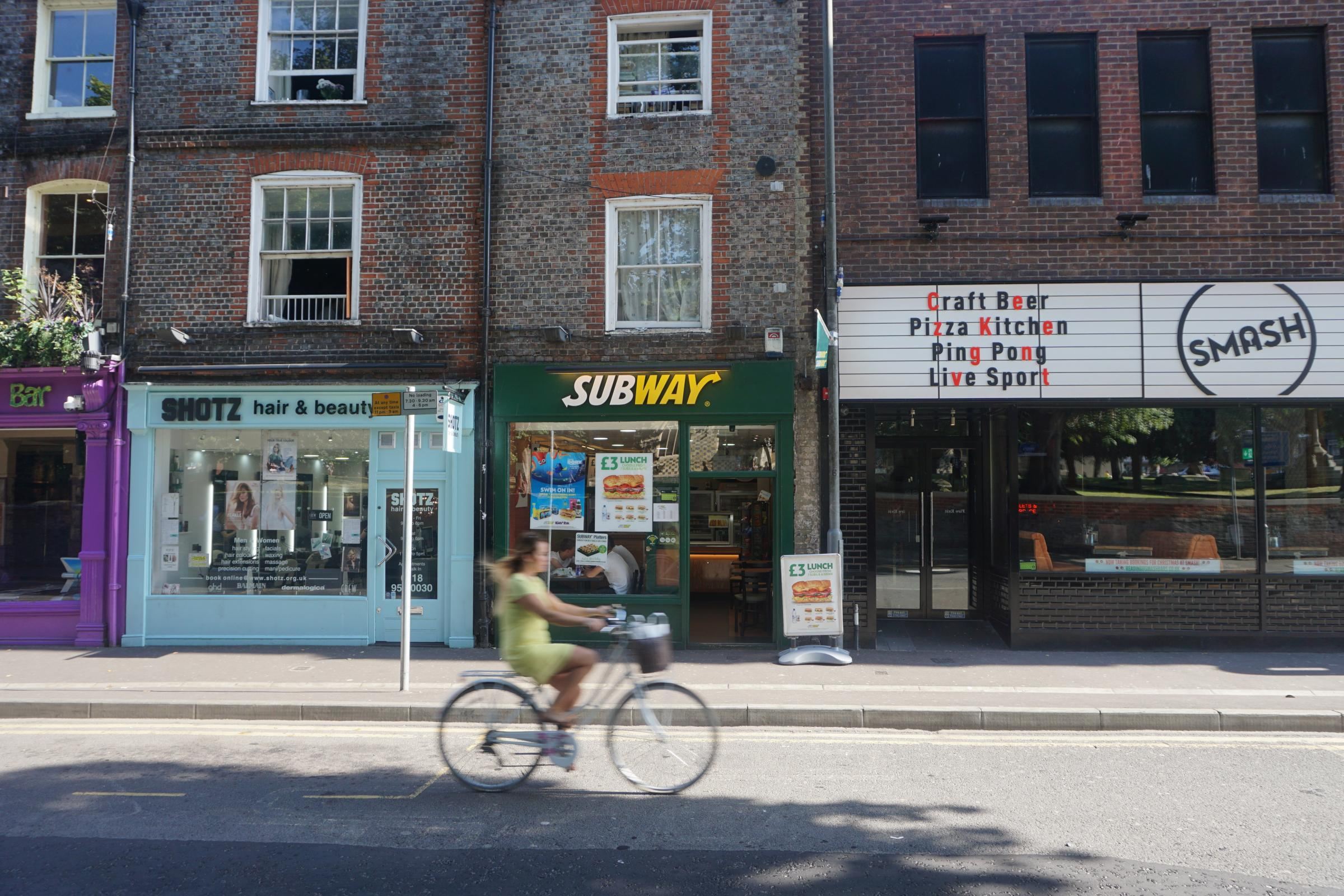 Retail Award sponsor Subway is gearing up for the Reading Festival
