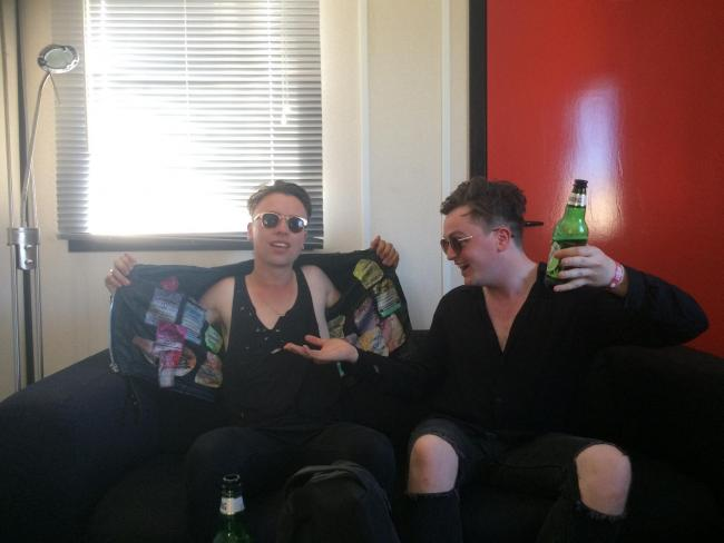 Otherkin's Conor Wynne and Rob Summons