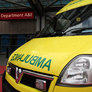 M4 closed and motorcyclist airlifted to hospital after crash
