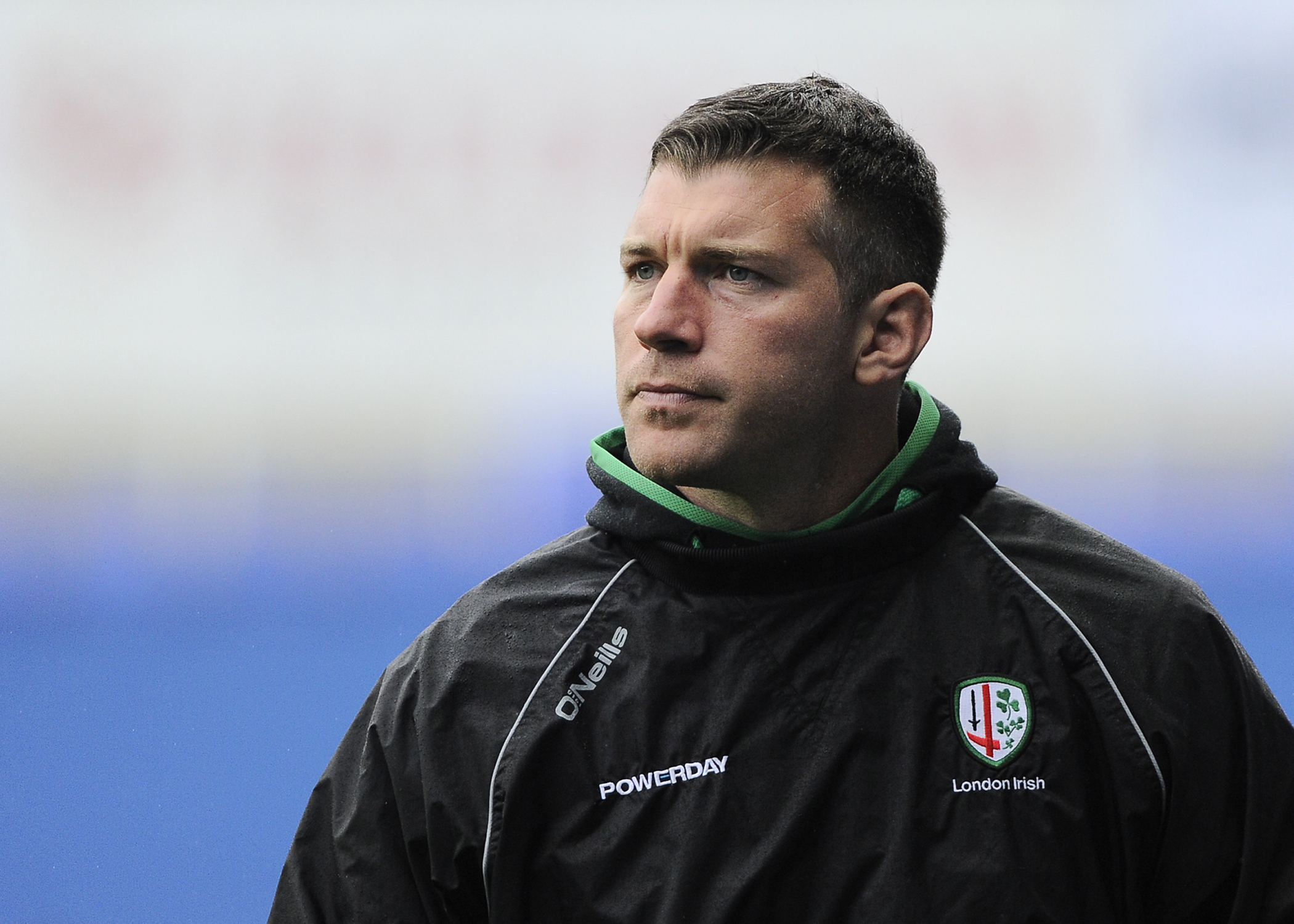 London Irish director of rugby, Nick Kennedy.