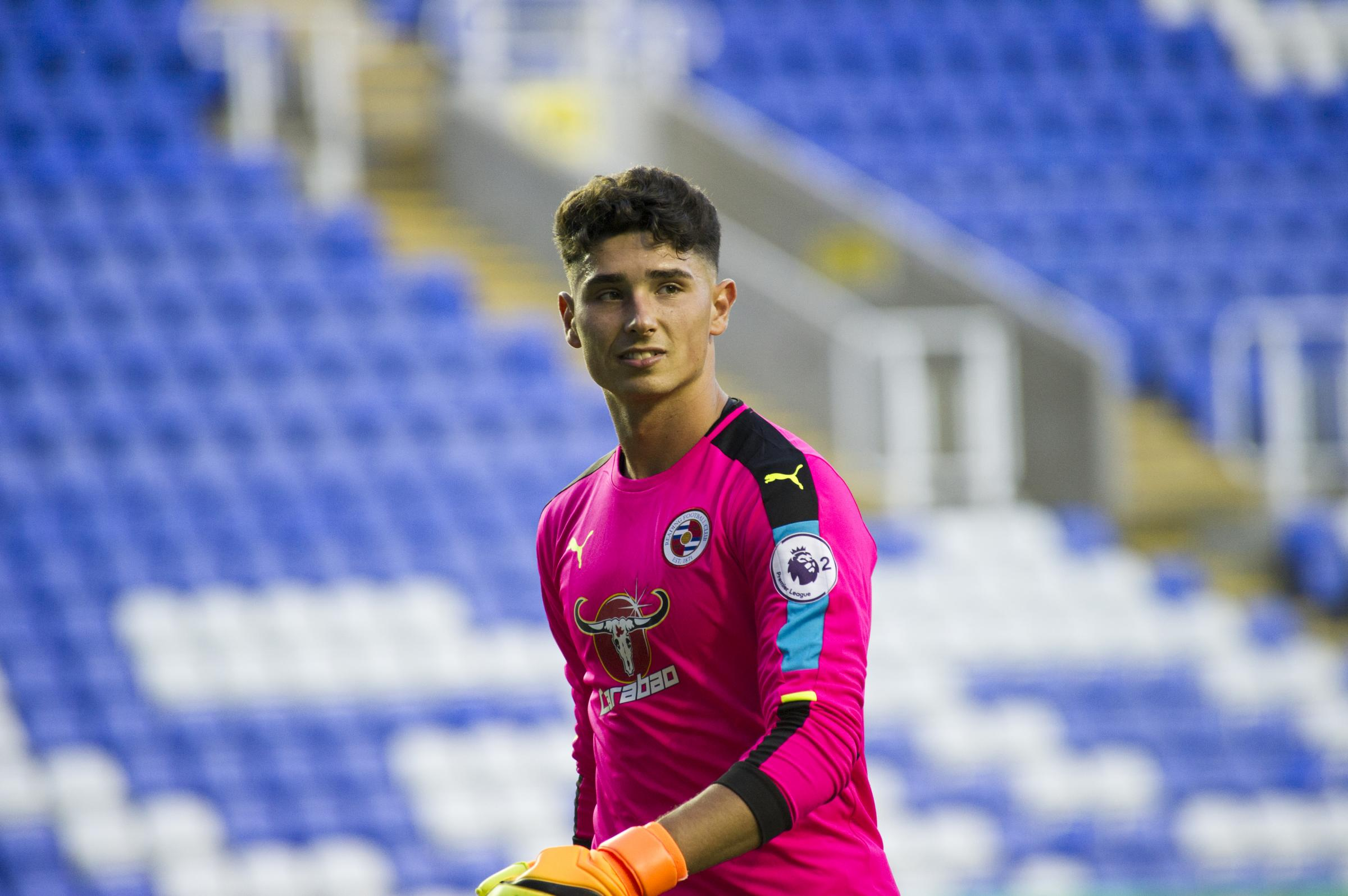 Luke Southwood has signed a new contract with Reading FC