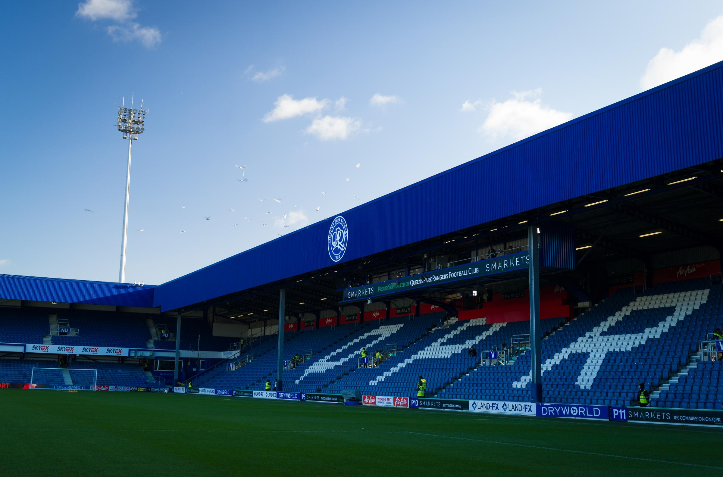Reading fans will have to fork out £33 for an adult ticket at QPR.