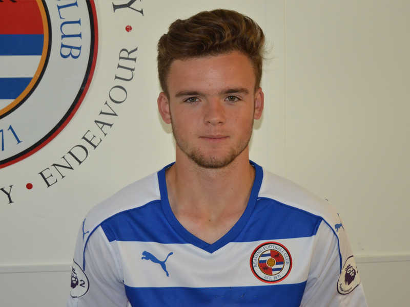 Tyler Frost was on target for Reading U23s against Newcastle.