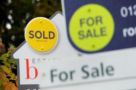 House sales down 40 PER CENT year on year