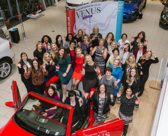 Semifinalists for the Venus awards were invited to a special reception