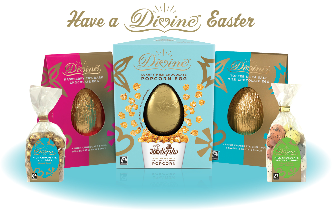 Divine is giving one lucky reader an Easter hamper worth £30