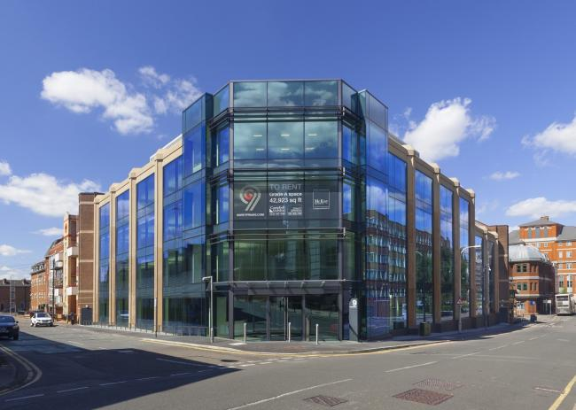 Innovative refurbished office space wins architectural award