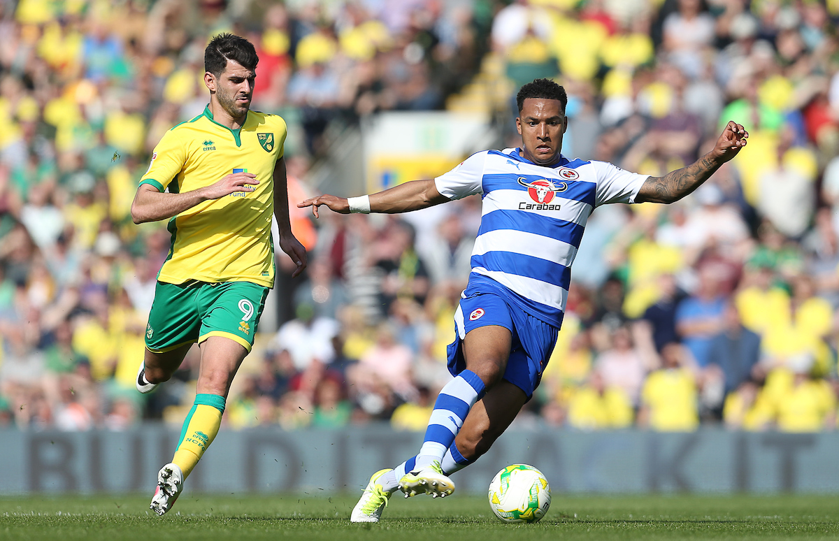Reading were not prepared to meet Norwich City's valuation of striker Nelson Oliveira, left.