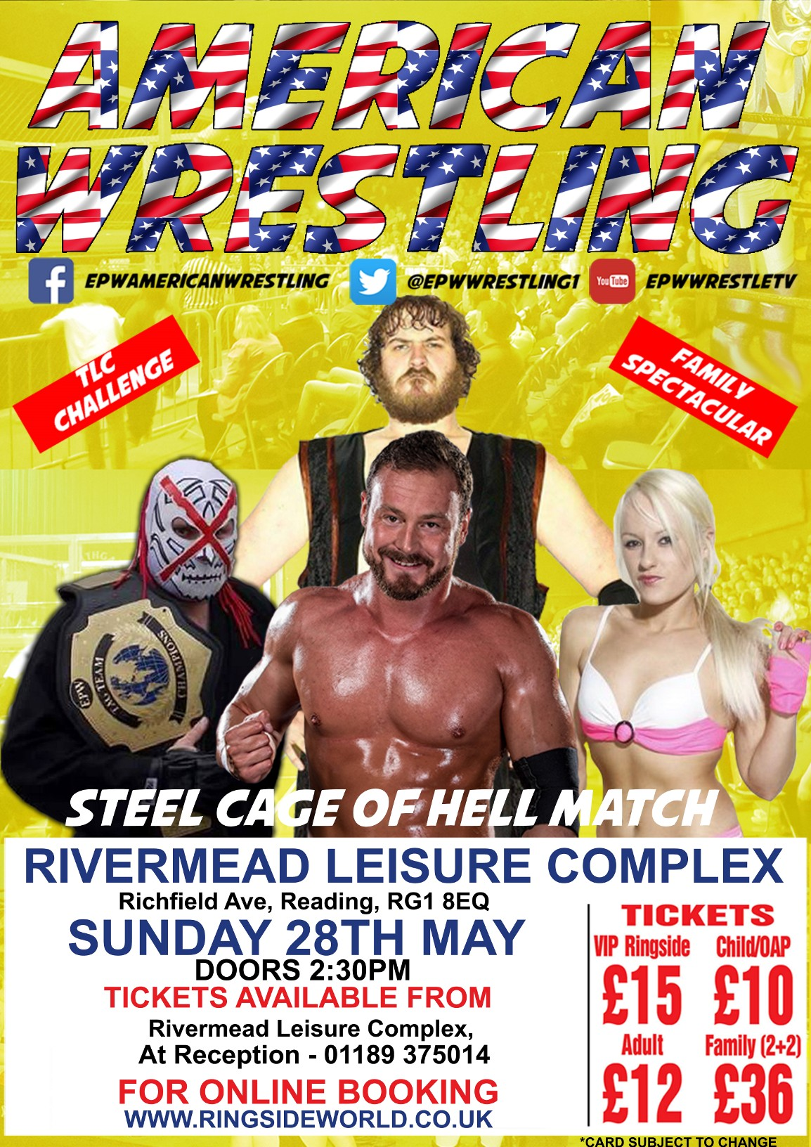 WIN: Family tickets to wrestling event