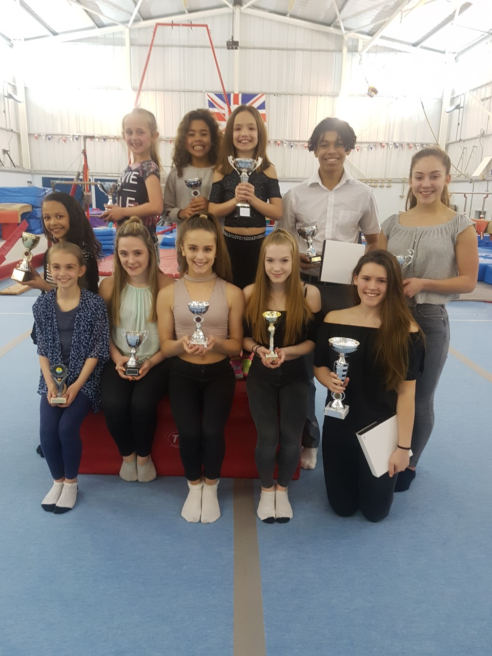 Star Performers At Bulmershe Gymnastics Club Honoured Awards Night The Award Winners