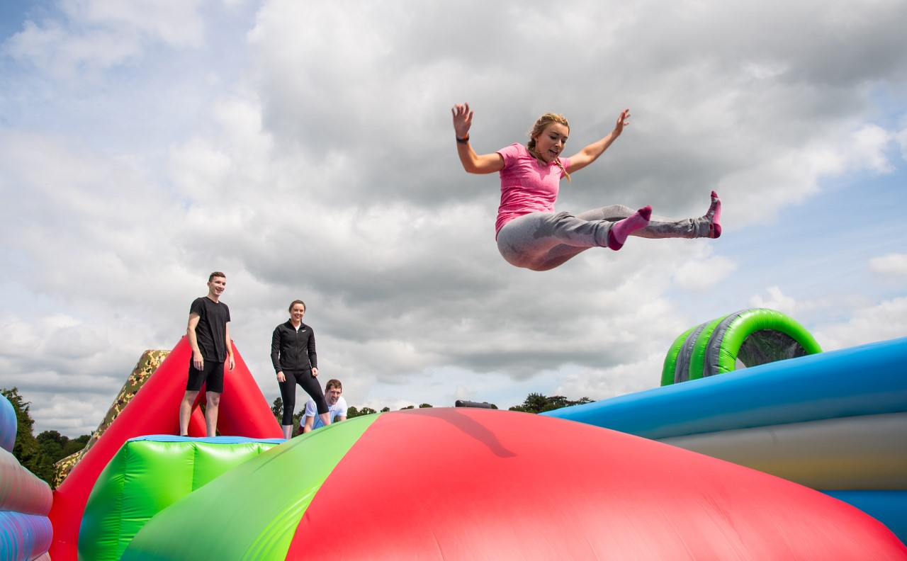 WIN: Ten pairs of tickets to world's longest inflatable obstacle course