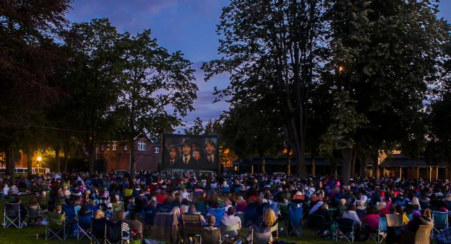 WIN: Tickets to open air cinema