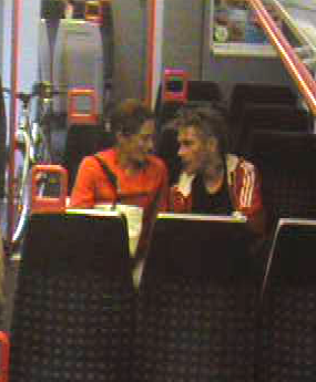 Witness appeal after couple engage in 'sexually explicit behaviour' on a train