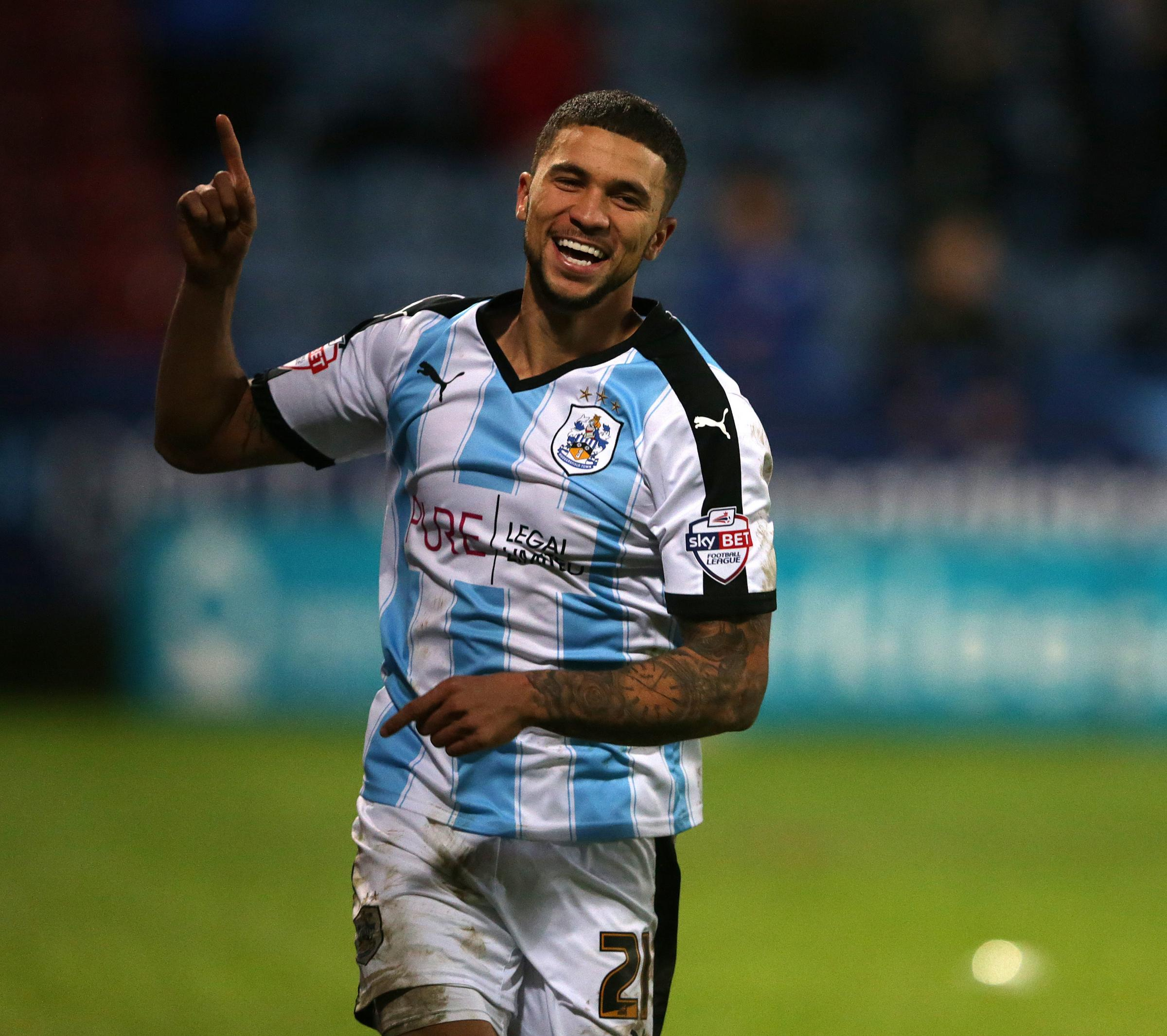 Royals have been linked with Huddersfield's Nahki Wells. Picture: Stephen White/CameraSport