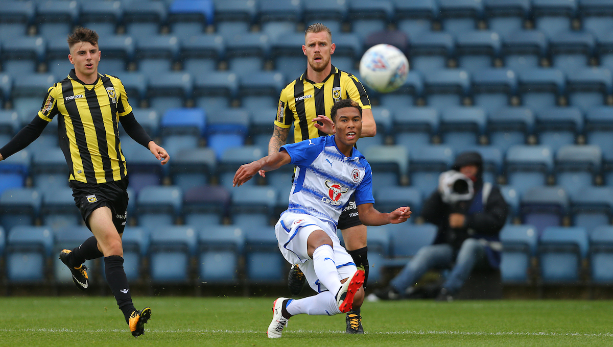 Reading striker, Danny Loader.