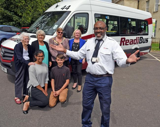 Lifeline service boosted by new bus following £52,000 fundraising campaign