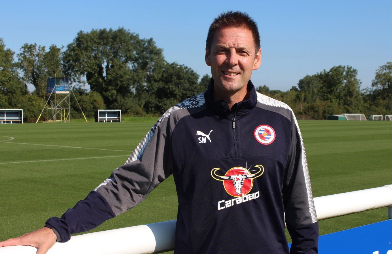 Reading Under 23s boss, Scott Marshall.