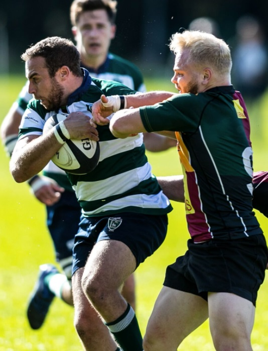 Reading's Alex Dorliac goes on the charge   Picture by Vermont Images