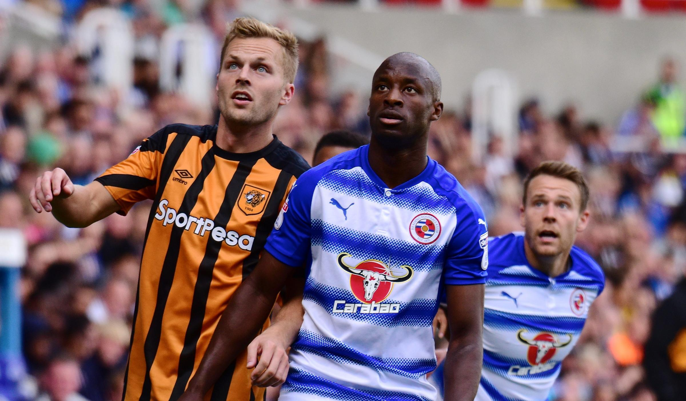 KEEP THE FAITH: Sone Aluko insists sacking Reading FC boss Jaap Stam if Royals lose against Forest will be a mistake