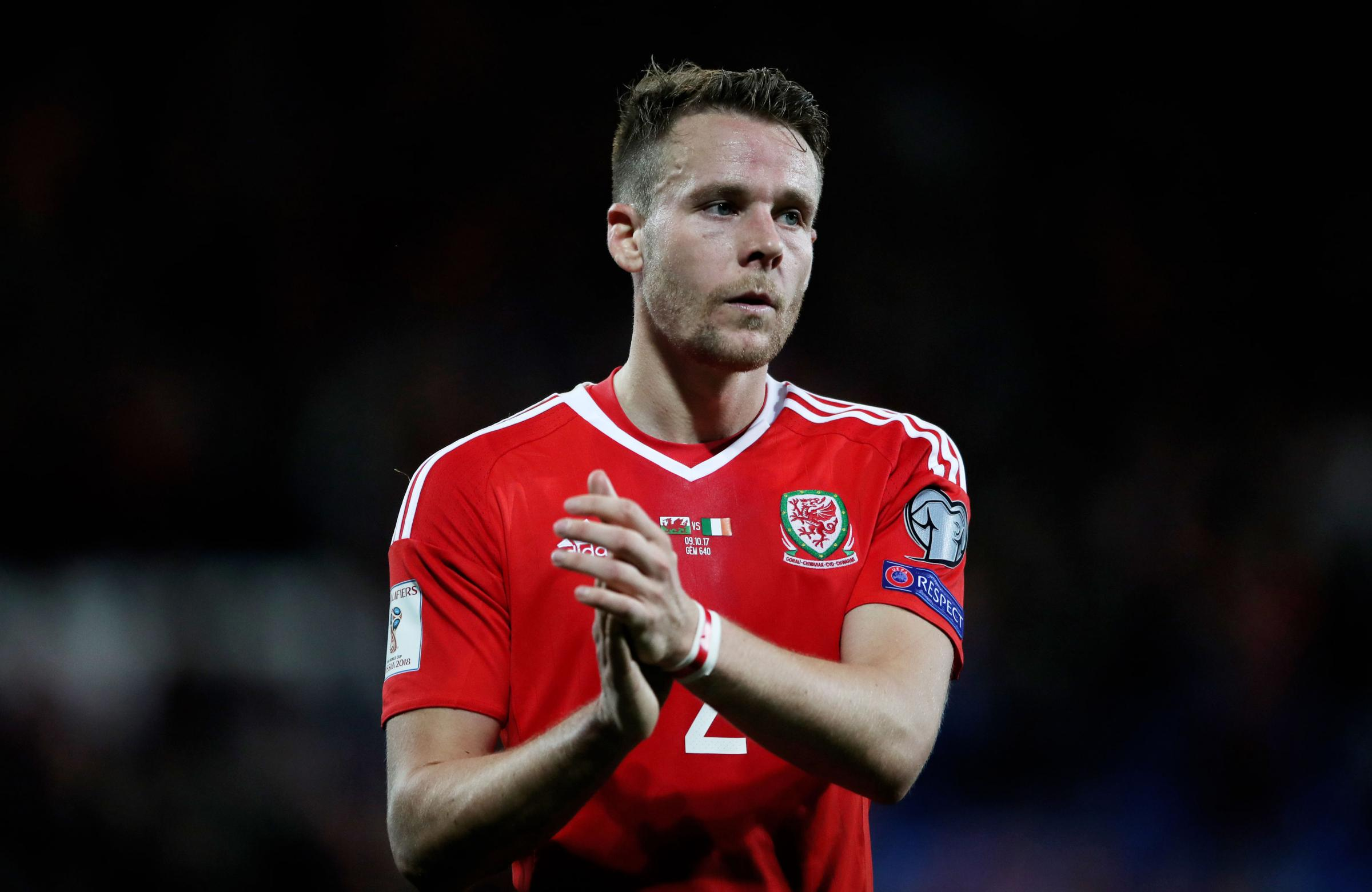 Chris Gunter captained Wales for the first time this week. Picture: Nick Potts/PA Wire.