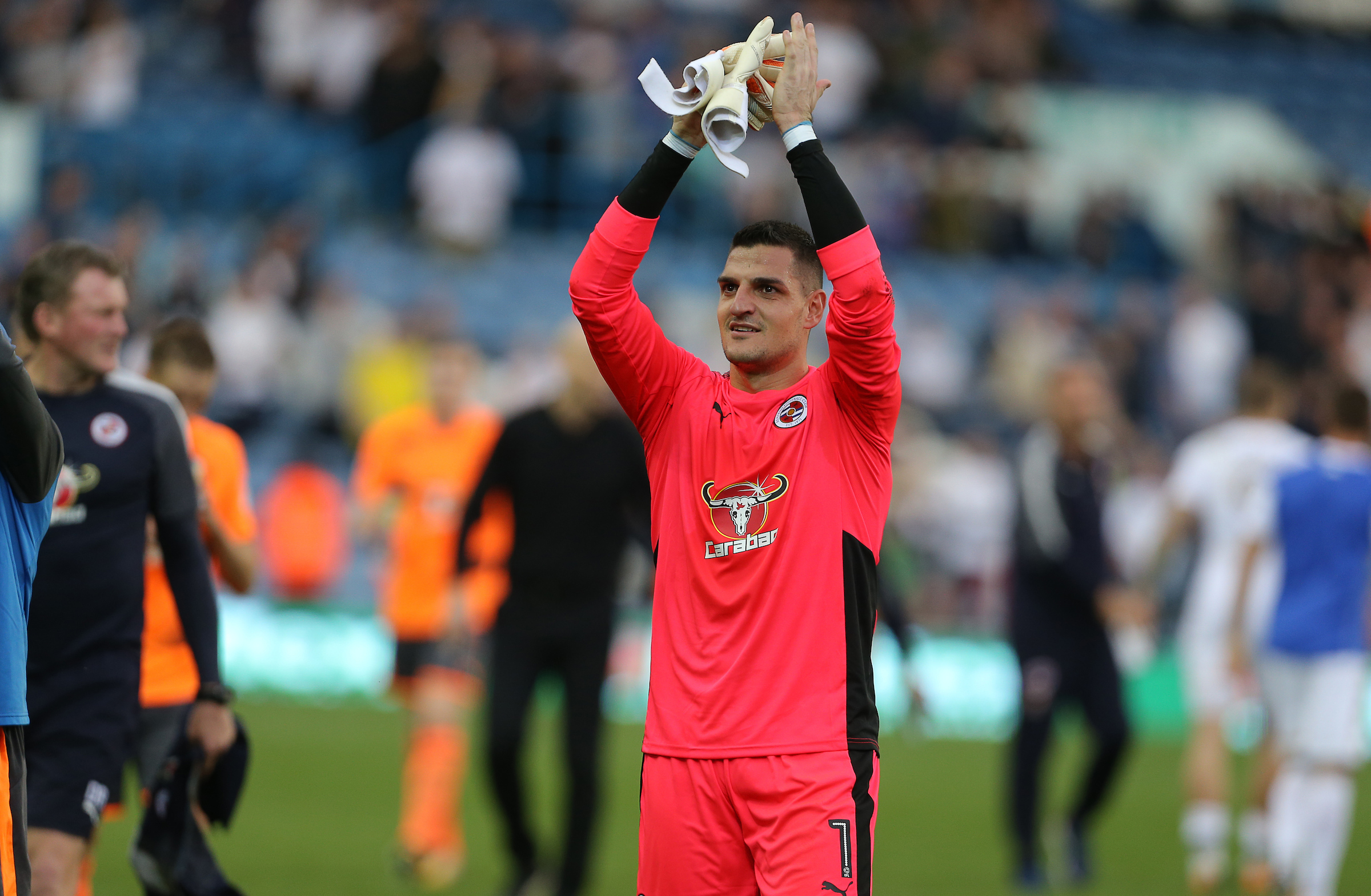 Royals keeper Vito Mannone.