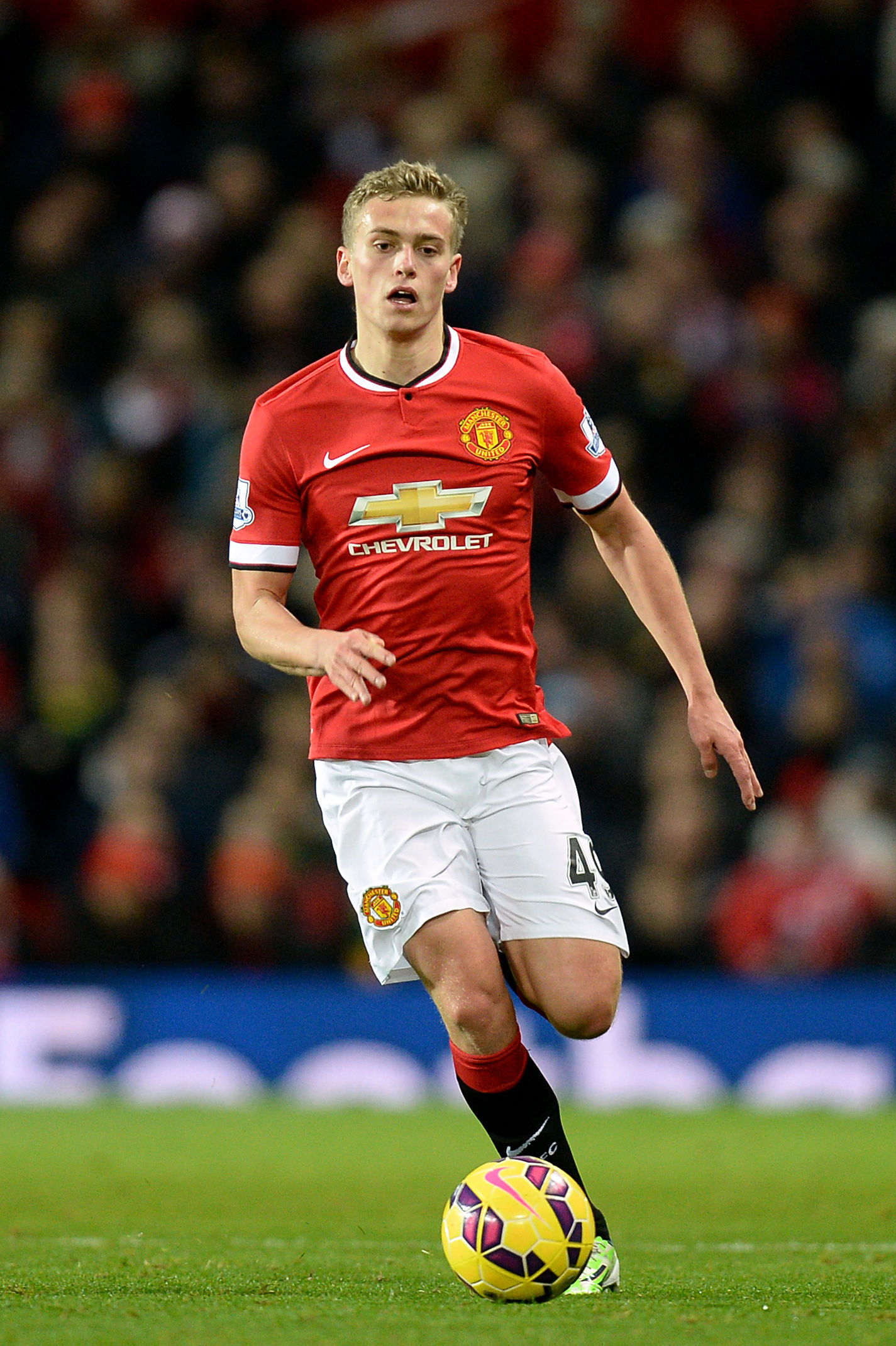 Manchester United's James Wilson. Picture: Martin Rickett/PA Wire.