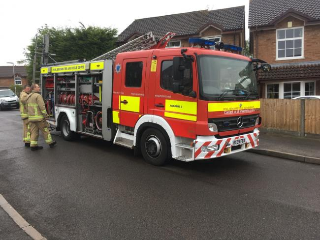 Person rushed to hospital after blaze in Calcot
