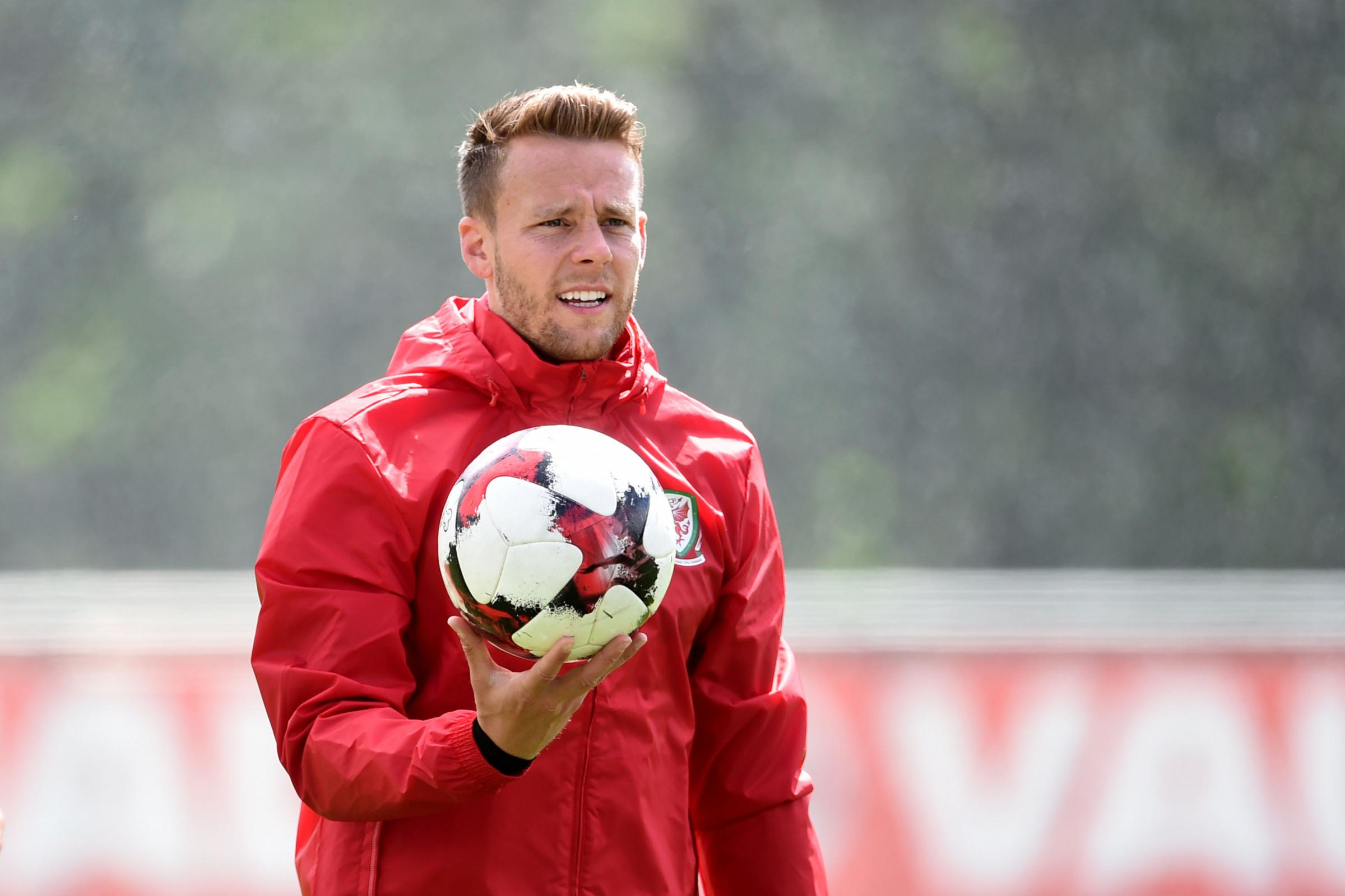 Reading and Wales full-back, Chris Gunter.