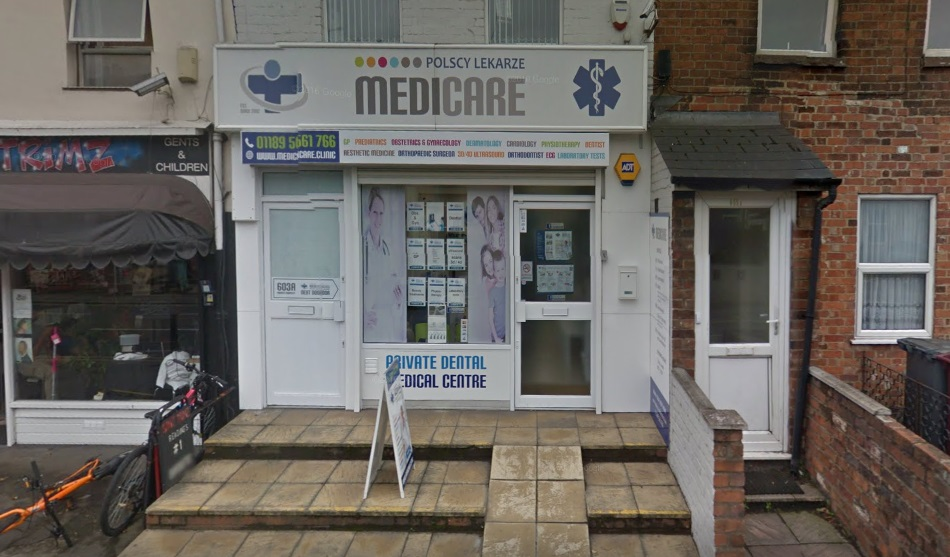 Medicare on Oxford Road - Image: Google