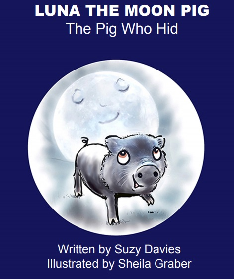 Reading author launches out-of-this-world tale about astronomical pig