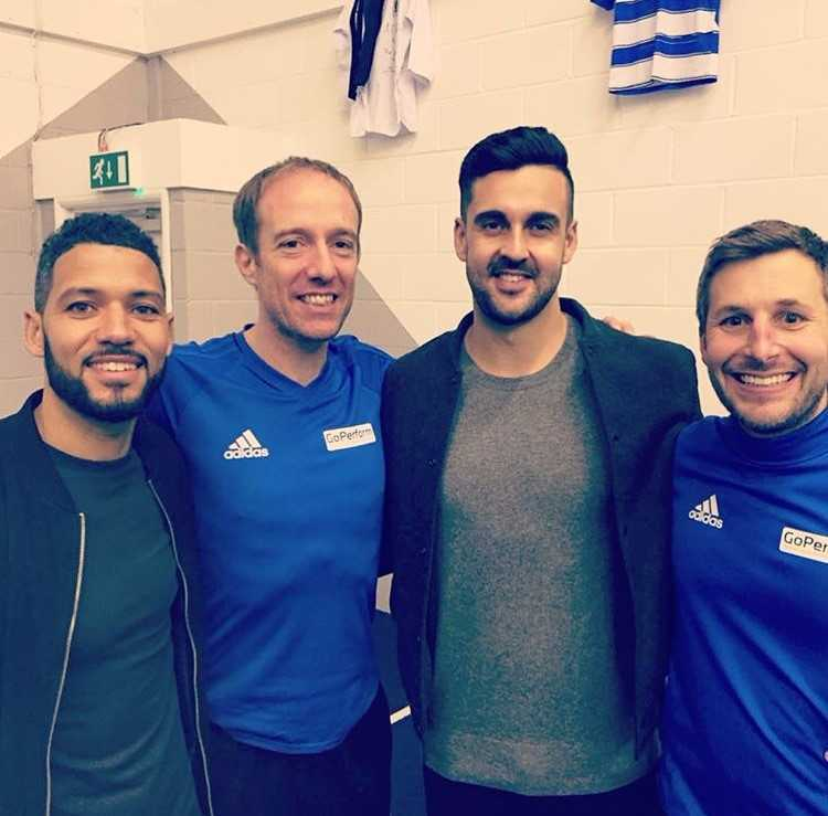 Jobi McAnuff, Luke Anthony, Adam Federici and Dan Buchanan