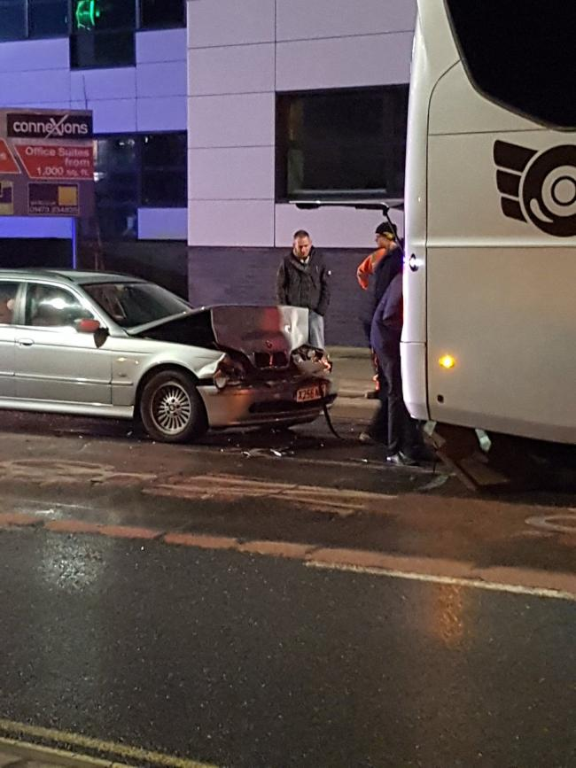 Reading FC: Royals' team coach involved in 'traffic accident