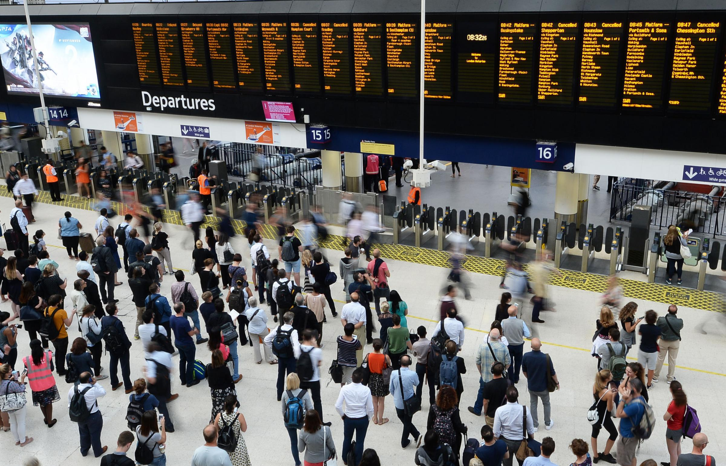 Biggest train fare hike in five years kicks in today - including a £104 increase for season ticket holders using the Maidenhead line to London: Photo -John Stillwell/PA Wire