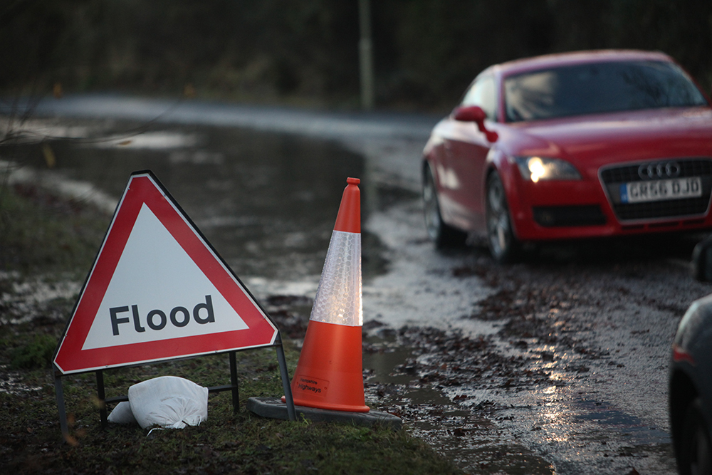 Council welcomes new project at flooding hotspot