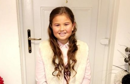 Schoolgirl plans to have her hair cut on Valentine's Day to help sick children