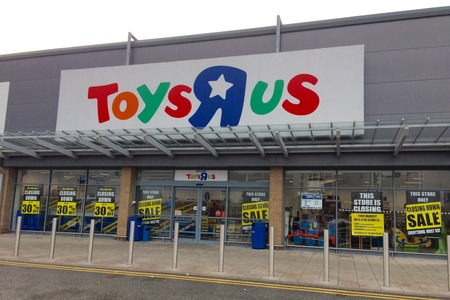 Toys R Us enters administration putting thousands of jobs at risk, but Reading branch will remain open for now