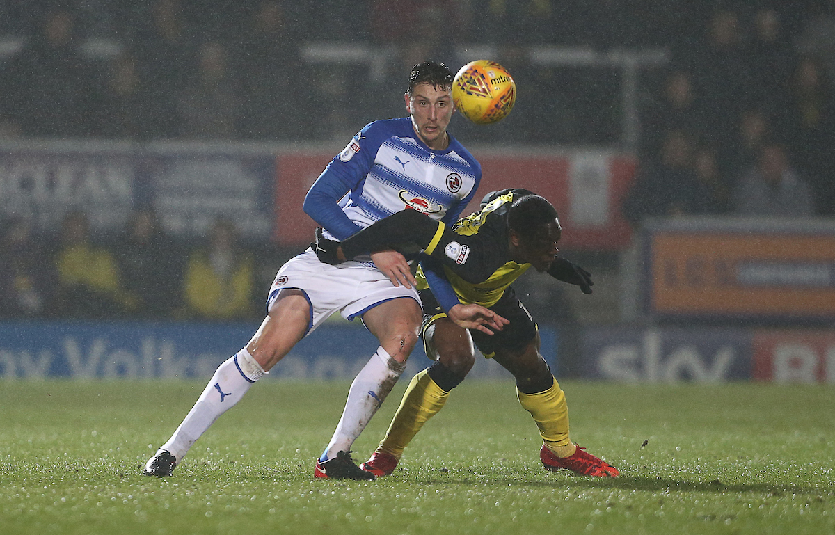 Tommy Elphick in action against Burton Albion. Picture by Jasonpix