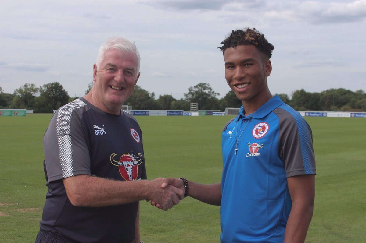 Danny Loader is on the verge of a first-team breakthrough at Reading FC